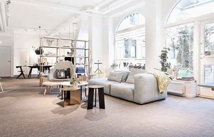 Bolon flooring in Gulled Agenturer in Gothenburg, Sweden