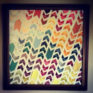 19 best Paint Sample Art images on Pinterest   Paint chips, Colour ...