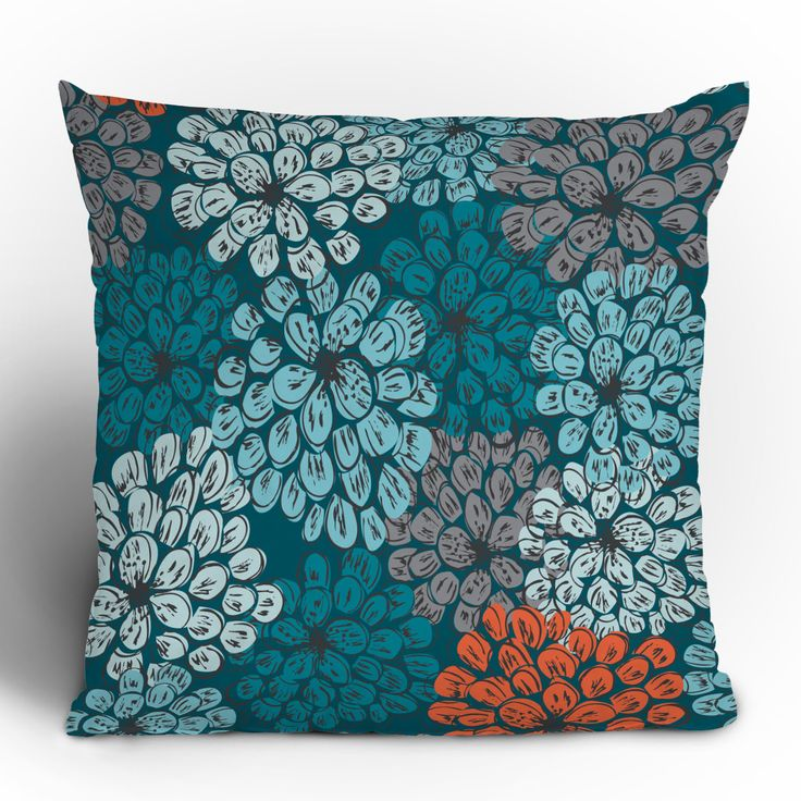 DENY Designs Khristian A Howell Greenwich Gardens Polyester Throw Pillow