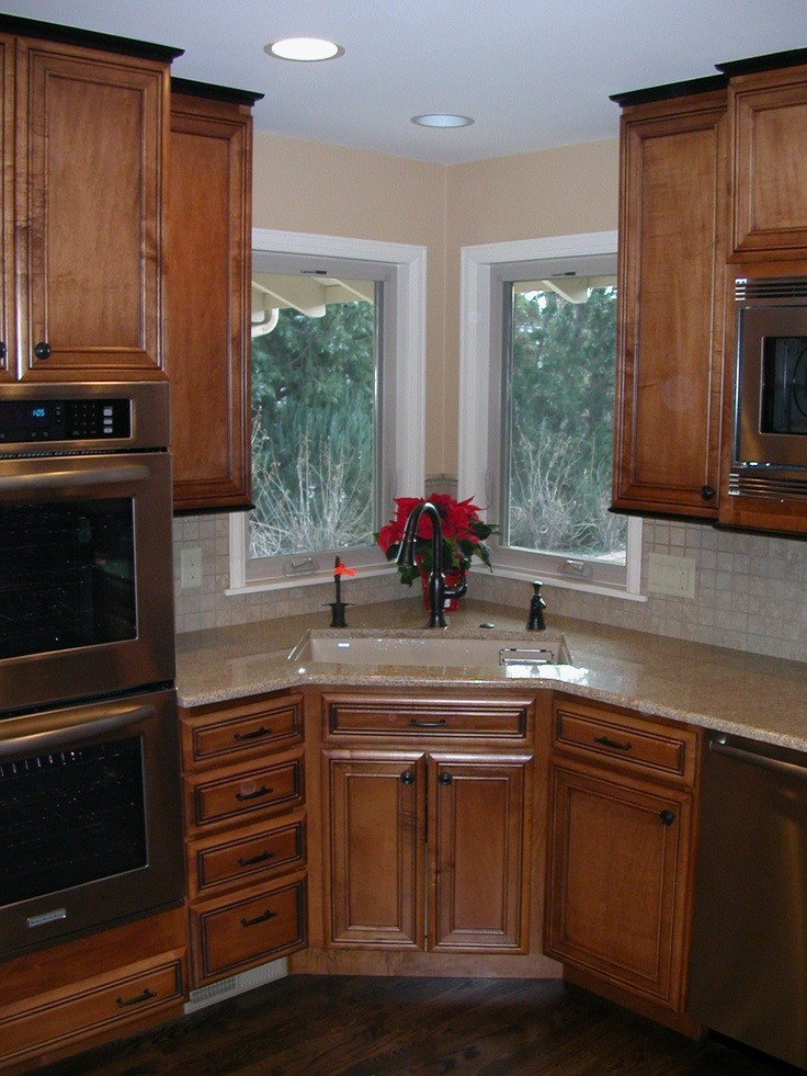 Rustic alder cabinets kitchens pinterest alder for Alder kitchen cabinets pictures