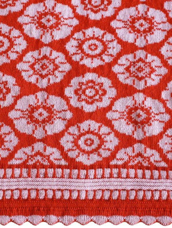 So, so beautiful! Wool blanket from Oleana in Norway, Design 413