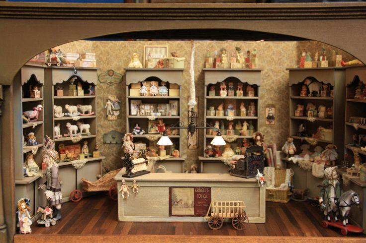 Toy's 1:12 Hobby toys home made dollhouse miniatures...this is truly a wonderful collection piece which I would love owning...