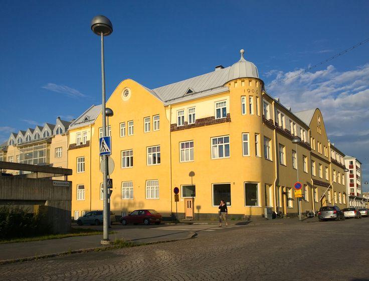 Tuomi Building Oulu Finland. Lumia 1020 photo by Auvo Veteläinen.