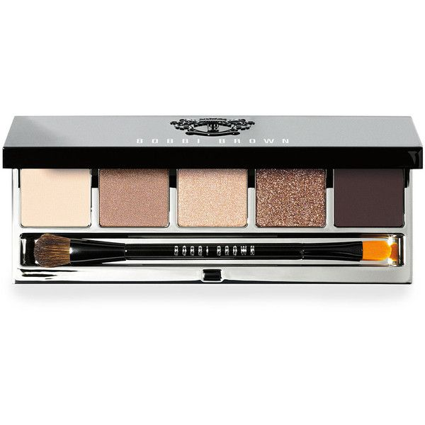 Bobbi Brown Rich Caramel Eye Palette found on Polyvore featuring beauty products, makeup, eye makeup, eyeshadow, shimmer eye shadow, shimmer eyeshadow, sparkle eye shadow, eye brow makeup and eye shadow brush