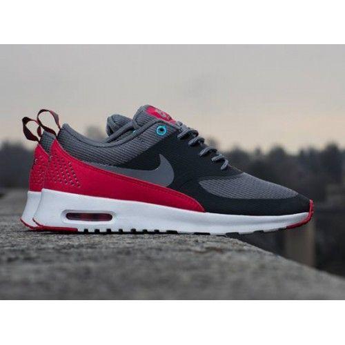 Chaussures Sport Nike Air Max Thea Anthracite Cool Gris Légende Rouge  Polarisé Bleues Femme Foot Locker Pas Cher, Nike Air Max Thea Chaussures  Vous ...