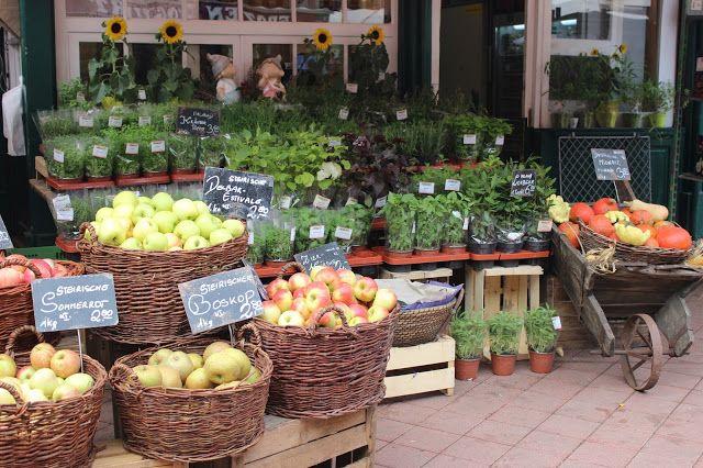 Naschmarkt - Bécs
