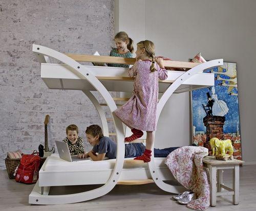 beliche cama para quartos de crianças