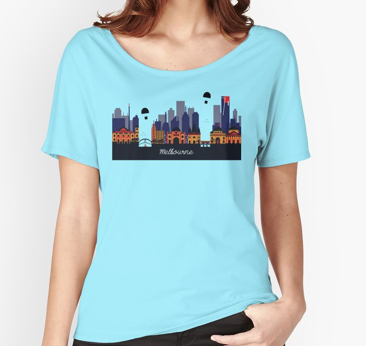 """""""Lovely Melbourne"""" T-Shirts & Hoodies by jollybirddesign   Available in various colors   Redbubble #lovely #melbourne #shirt"""