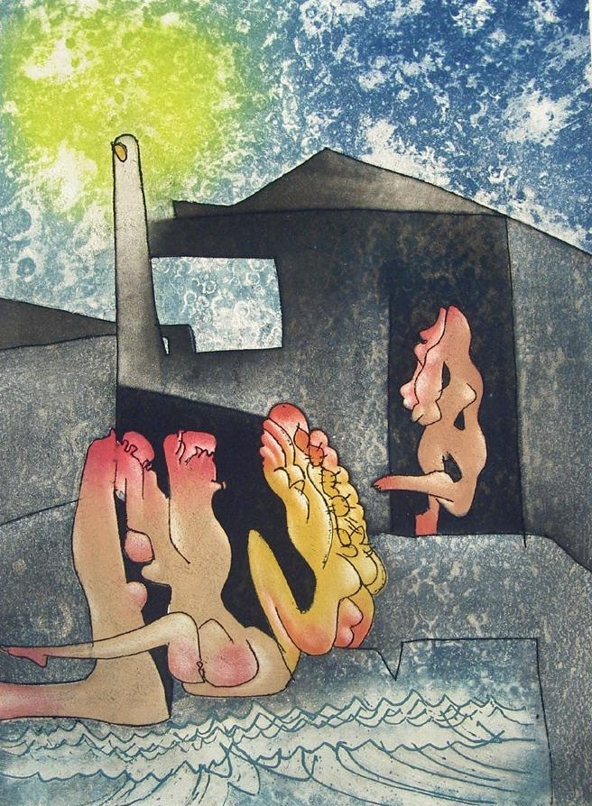 Ladans de la Mort by Roberto Matta  Discover the coolest shows in New York at www.artexperience.com