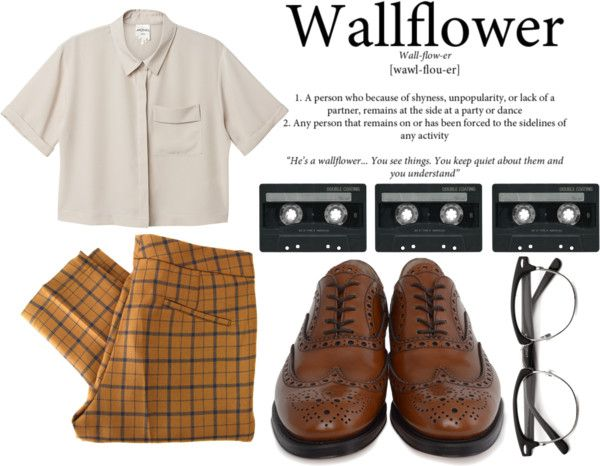 """""""The Perks Of Being A Wallflower."""" by hippierose on Polyvore"""