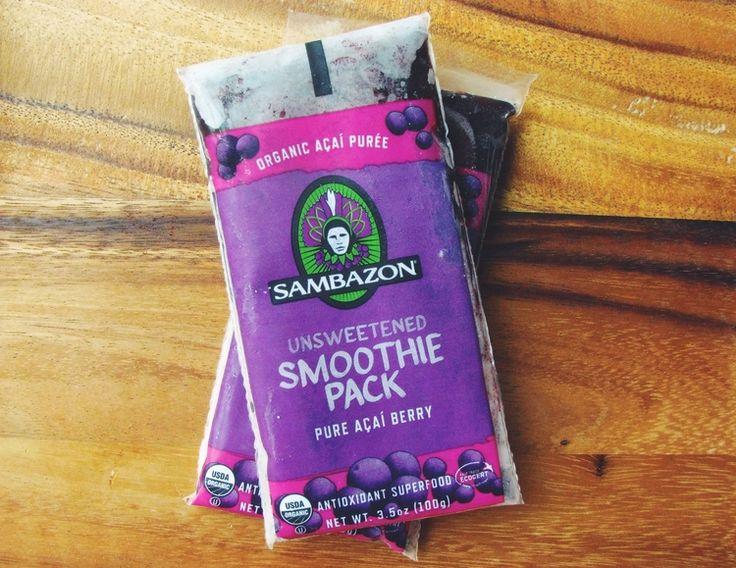 acai smoothie packs for acai bowls | RECIPE on hotforfoodblog.com