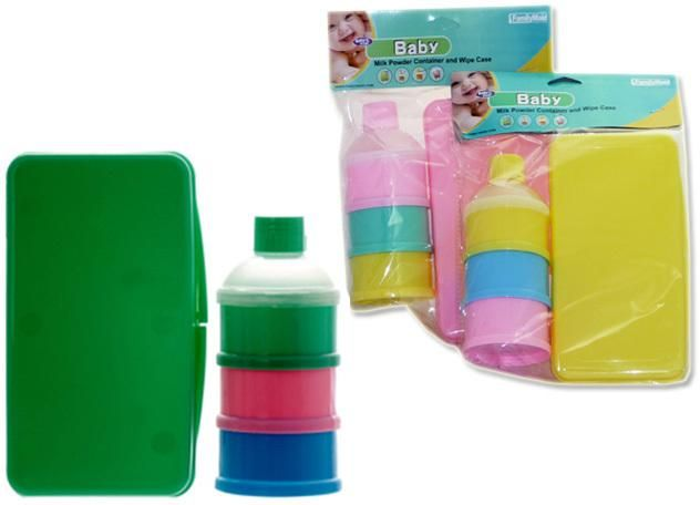 FamilyMaid Baby Wipe Case & Formula Container - 12 Units