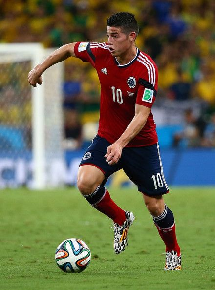 James Rodriguez - Brazil v Colombia: Quarter Final - 2014 FIFA World Cup Brazil - for me, the best player in this tournament