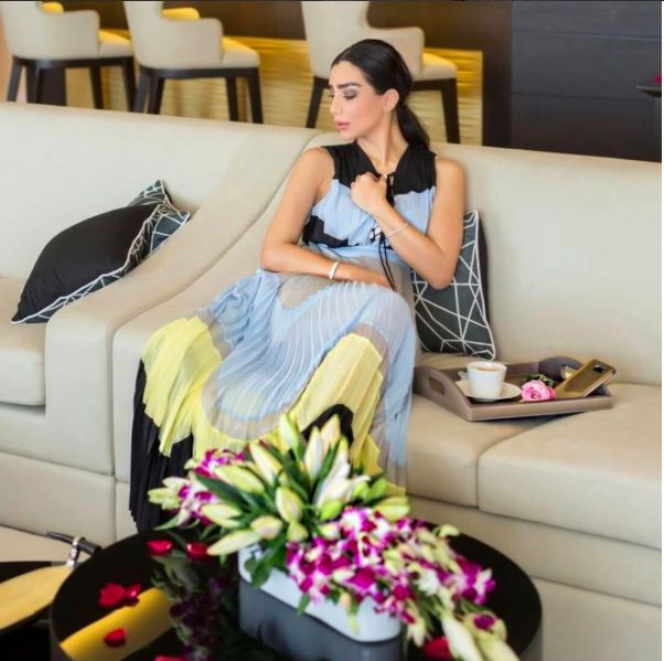 Renee Farah wear AnnaRita N Luxury Collection