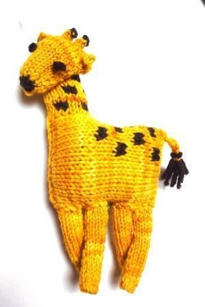 Giraffe from African Animal Baby Mobile