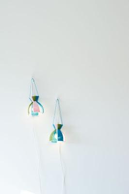 Homemade lampshades