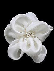 Satin With Flower/ Imitation Pearl Corsage – AUD $ 5.71 - CORSAGE could wear on wrist