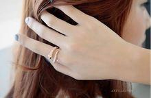 Ajustável 2016 moda jóias anéis para as mulheres do sexo feminino bijoux anel esterlina-prata-jóias cristal feminino anel anillos mujer(China (Mainland))