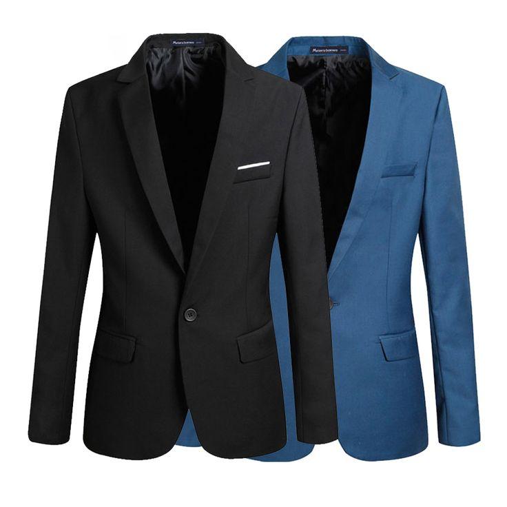 2016 New Arrival  Casual Blazer Men Fashion Brand  Business Slim Fit Jacket Suits Blazers Masculine Coat Men Clothes