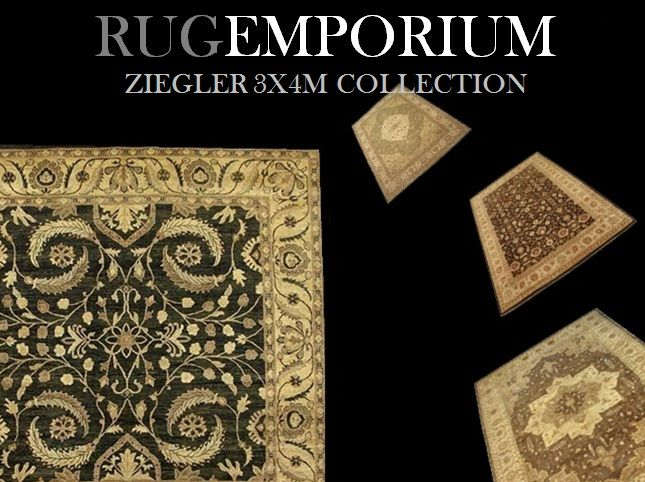 http://www.rug-emporium.com/ziegler-collection-2x3m.html  http://www.rug-emporium.com/ziegler-collection-3x4m.html