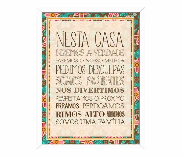 Adorei este quadro, já está na minha lista dos desejos, para a reforma da nossa casa!!! formafina.com.br -