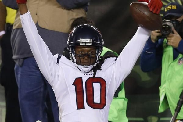 DeAndre Hopkins is staying put in Houston.
