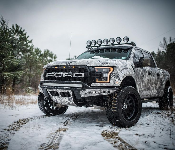 Winter is calling. Take the wheel. #fordraptor #fordraptorgen2
