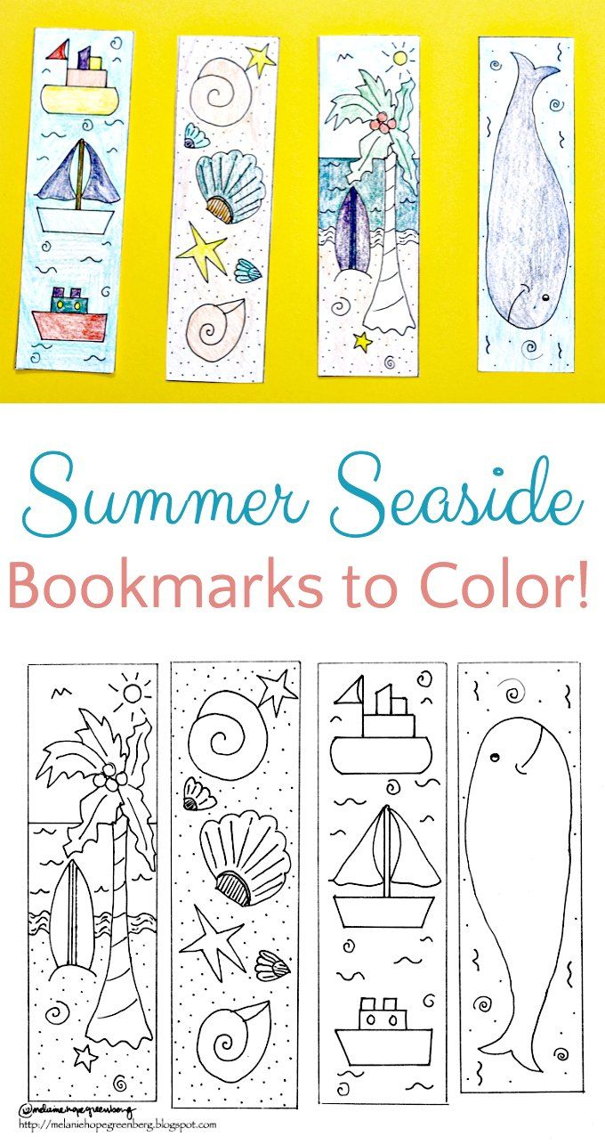 photograph regarding Printable Bookmarks for Kids identify Breezy Summer season Seashore Bookmark Coloring Web site R is for