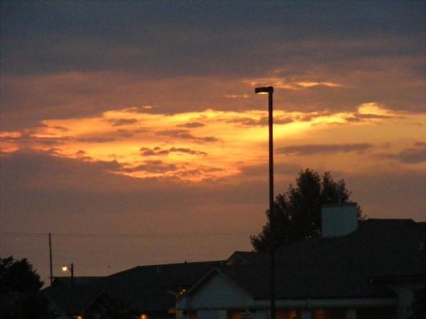 Amazing sky in Chickasha, Oklahoma..