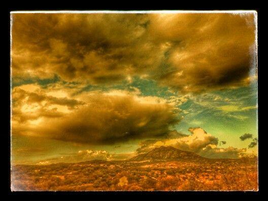 Nubes en el campo.....