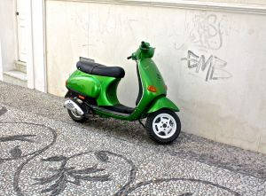 The many scooters of Nerja