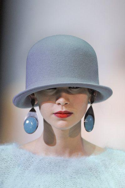 Bowler hat, Emporio Armani A/W 2013