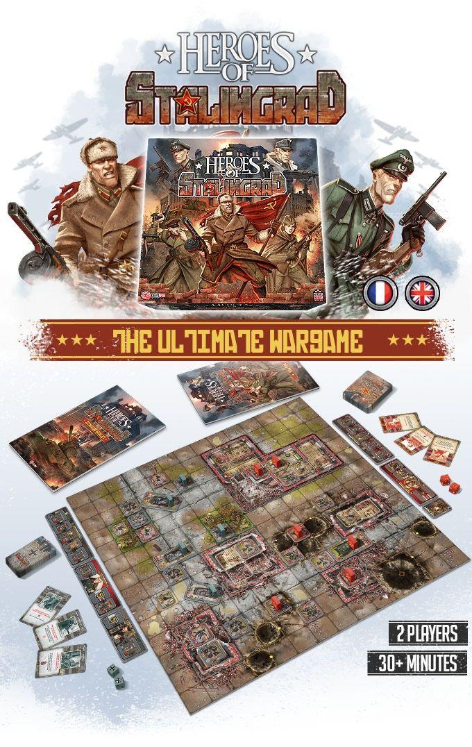kickstarter heroes of stalingrad heroes system tactical scale