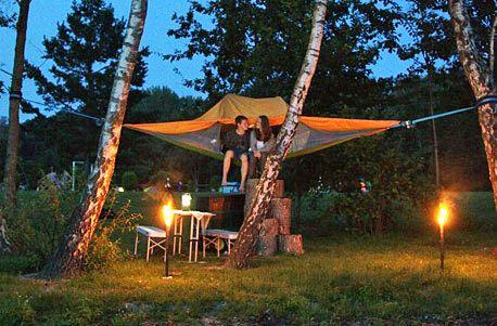 Übernachtung im Schwebezelt für 2 – Jochen Schweizer Erlebnisse