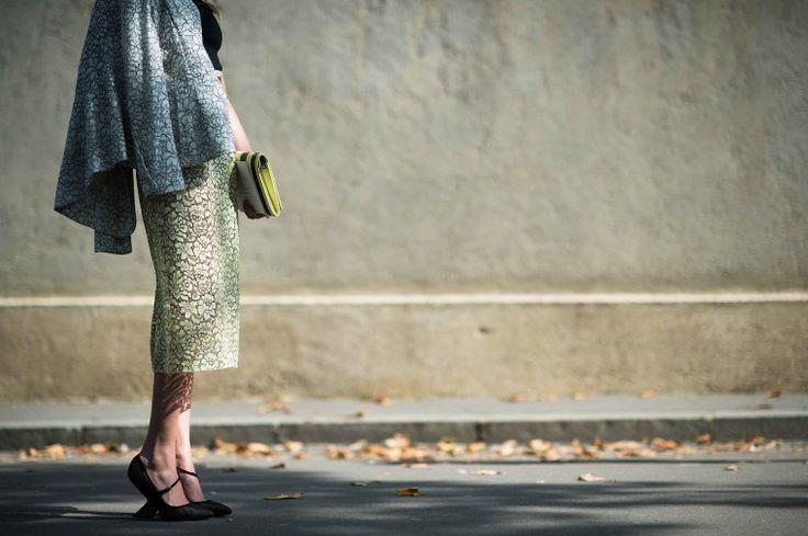 Street Style from Paris Fashion Week Spring 2014 - Paris Fashion Week Spring 2014 Street Style, Day 3