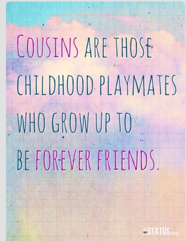 cousins fighting quotes relationship