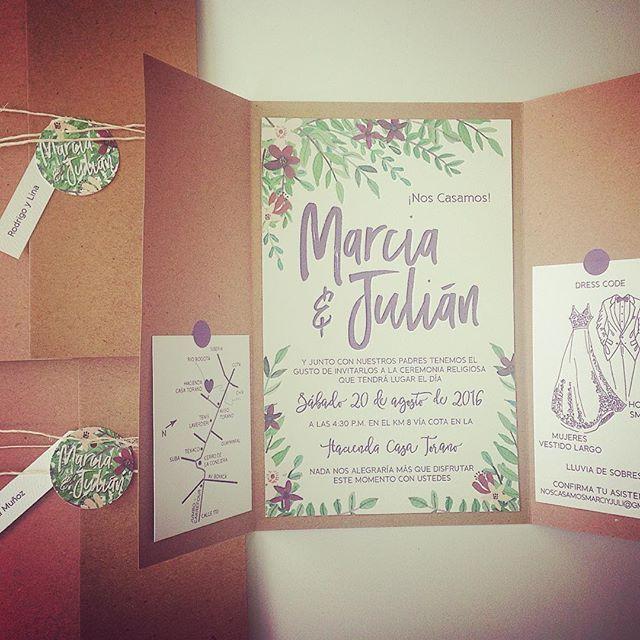 #amor #love #matrimonio #wedding #invitaciones #invites #rsvp #kraft #flores #flowers #hojas #leaves #organico #organic #ksa2 #ksa2matrimonios