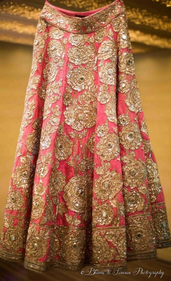 The Bridal Lehenga!