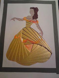 Mes petites bricoles - My little odds and ends: Princesses Disney (Iris folding)