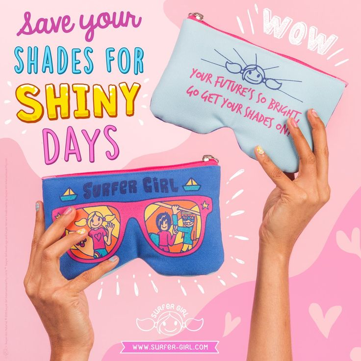 It's bright outside :D Let's put some shades on and embrace the abundance of sunrays ^^ Need some extra coolness to carry your shades ? <3 Gotta love this Sunfish Sunglasses Pouch, ha? ;) ^^ Love, Summer <3 #ilovesurfergirl #mylovemyway #pouch #sunglassespouch #cuteaccesories #giftideas