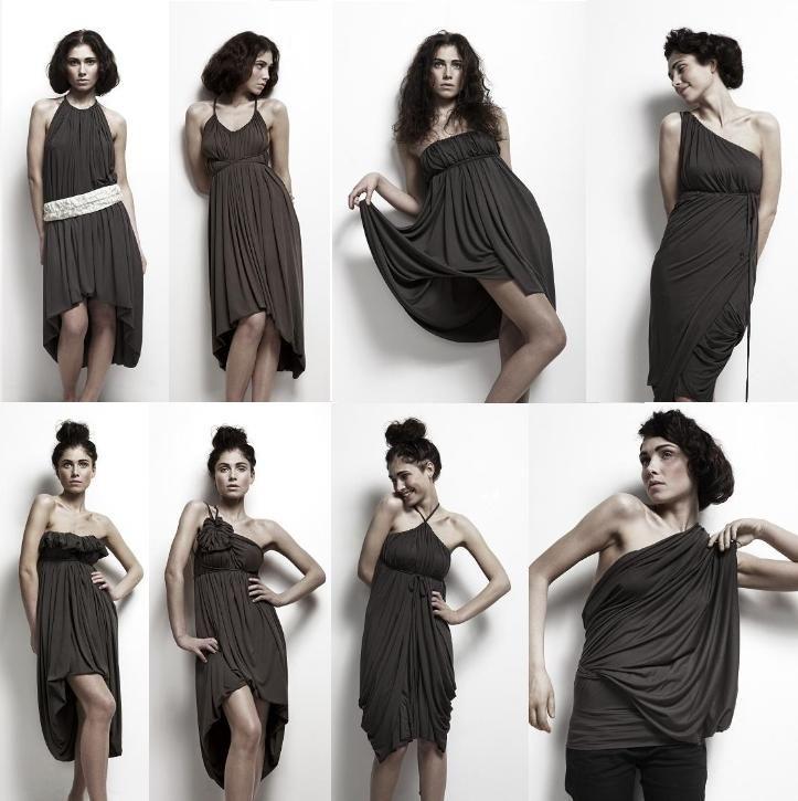 Limitless dress de Emami, 30 formas de usarlo (Multivestido) : VCTRY's BLOG