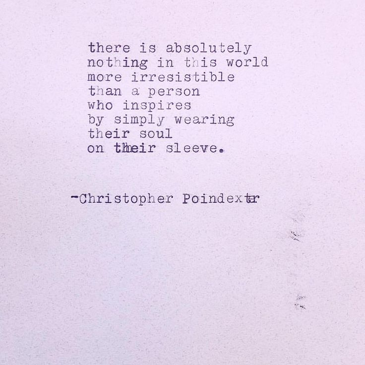 - Christopher Poindexter