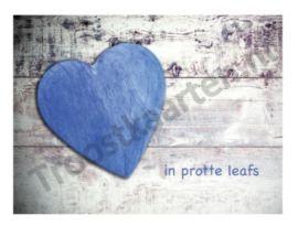 Leafs (2517) troostkaart met Friese tekst
