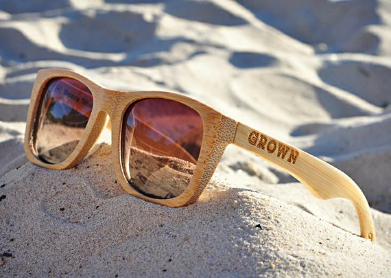 GROWN Sustainable Wooden Eyewear: Wooden Eyewear, Sun Glasses, Style, Bamboo Sunglasses, Sustainability Wooden, Bamboo Shades, Gafasdemadera Woodensunglass, Gadgets Flowing, Accessories