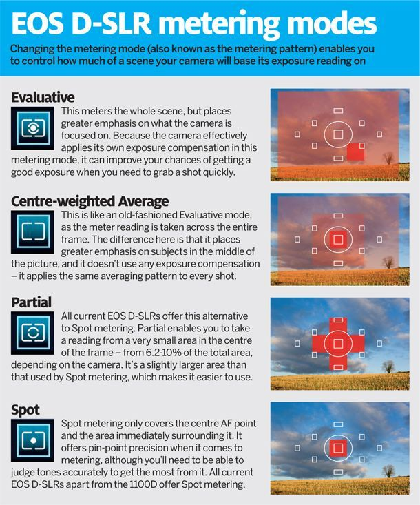 Canon metering modes: how to get perfectly exposed images in any situation. Photography tips. Nordic360.