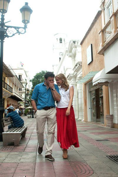 Still of Piper Perabo and Richard Coyle in Covert Affairs