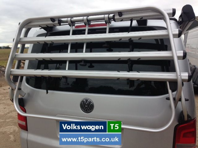 Vw T5 Bike Rack Tailgate Genuine Transporter Caravelle