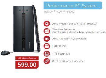 Aldi-PC: Medion Akoya P56000 bei Aldi-Nord für 599 Euro https://www.discountfan.de/artikel/technik_und_haushalt/aldi-pc-medion-akoya-p56000-bei-aldi-nord-fuer-599-euro.php Vor wenigen Tagen feierte er bei Aldi-Süd Premiere, in der kommenden Woche ist er bei Aldi-Nord zu haben: Der neue Aldi-PC Medion Akoya P56000 mit Sechskern-CPU, 128 GByte SSD, TByte-Festplatte und acht GByte RAM kostet 599 Euro. Aldi-PC: Medion Akoya P56000 bei Aldi-Nord für 599 Euro (Bild:... #AldiP