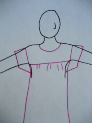 Making a Mexican Peasant Blouse from Nicely Done blog