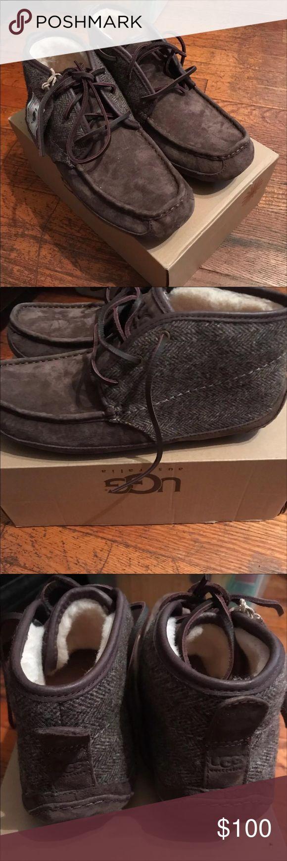 American Eagle Ladies Brown Moccasin Shoe